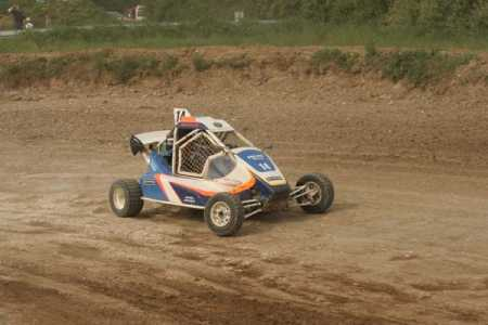 Le Sprint-car de Laon avec Martial Galland